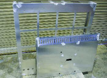 アルミ 車両積載表示板本体